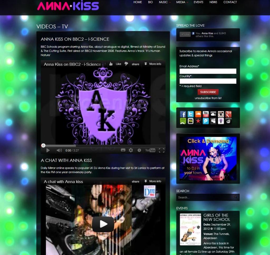 Youtube Videos Tv Anna Kiss Official Siteanna Kiss