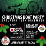 XMAS EXIT SHEBANG BOAT PARTY